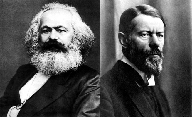 Karl marx and max weber essays