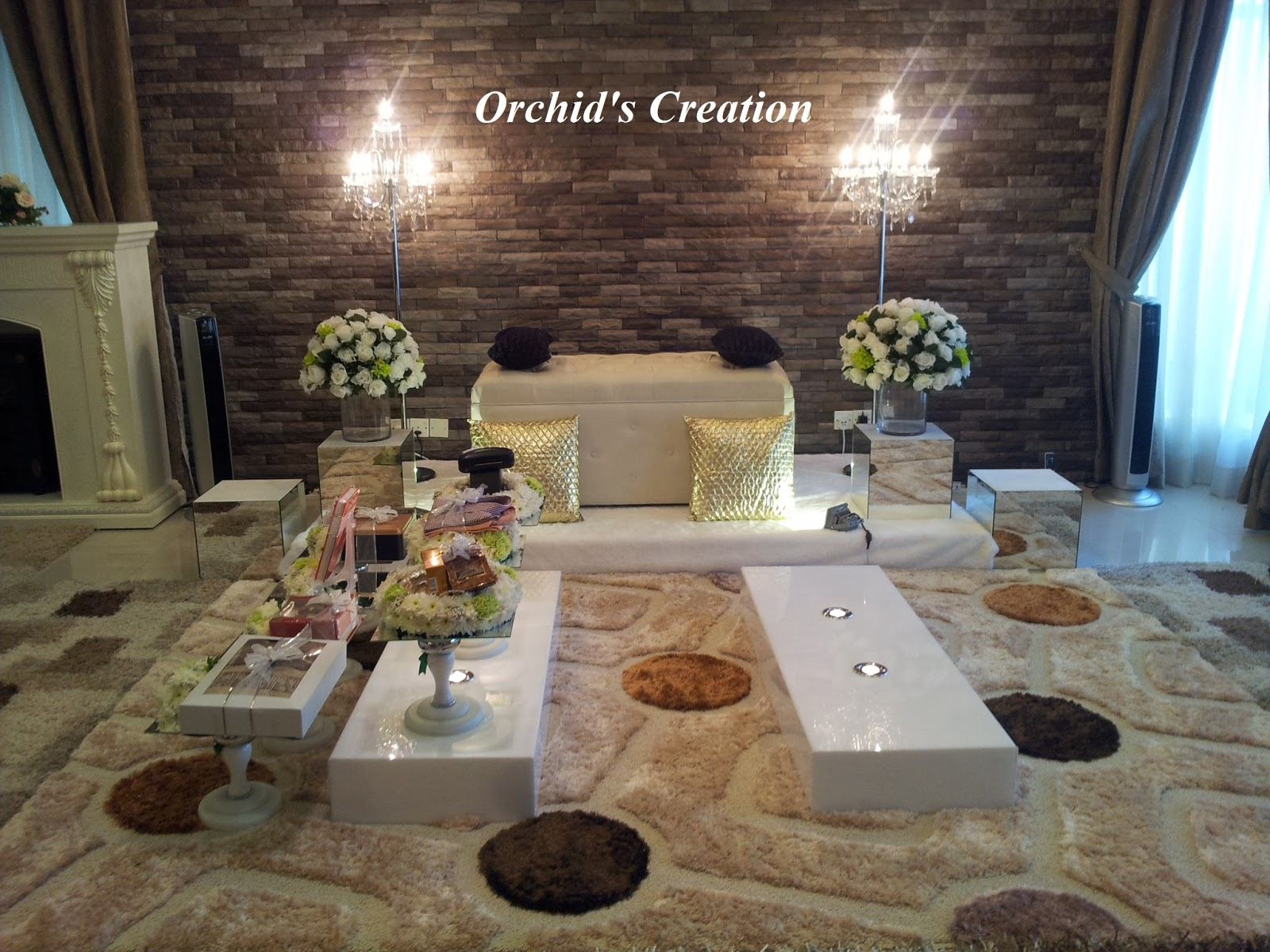 Orchid Creation Events Mini Pelamin