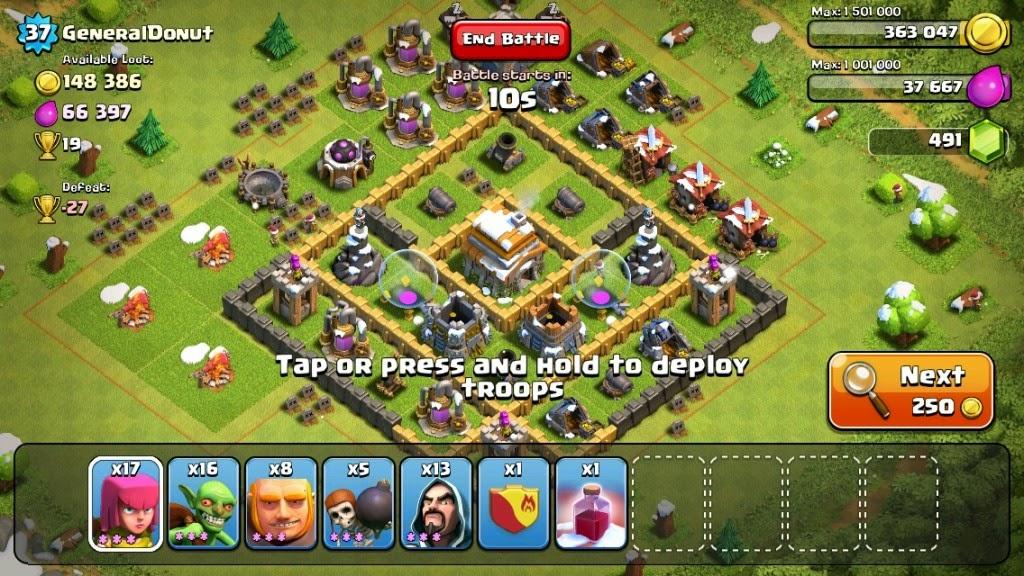 Tips Trik Cara Bermain Clash of Clans Terbaru