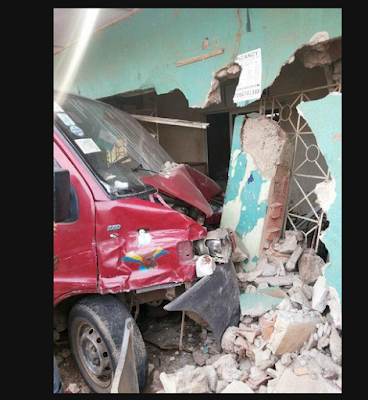 Photo; Fatal Accident Occurs At Agege Area Of Lagos State