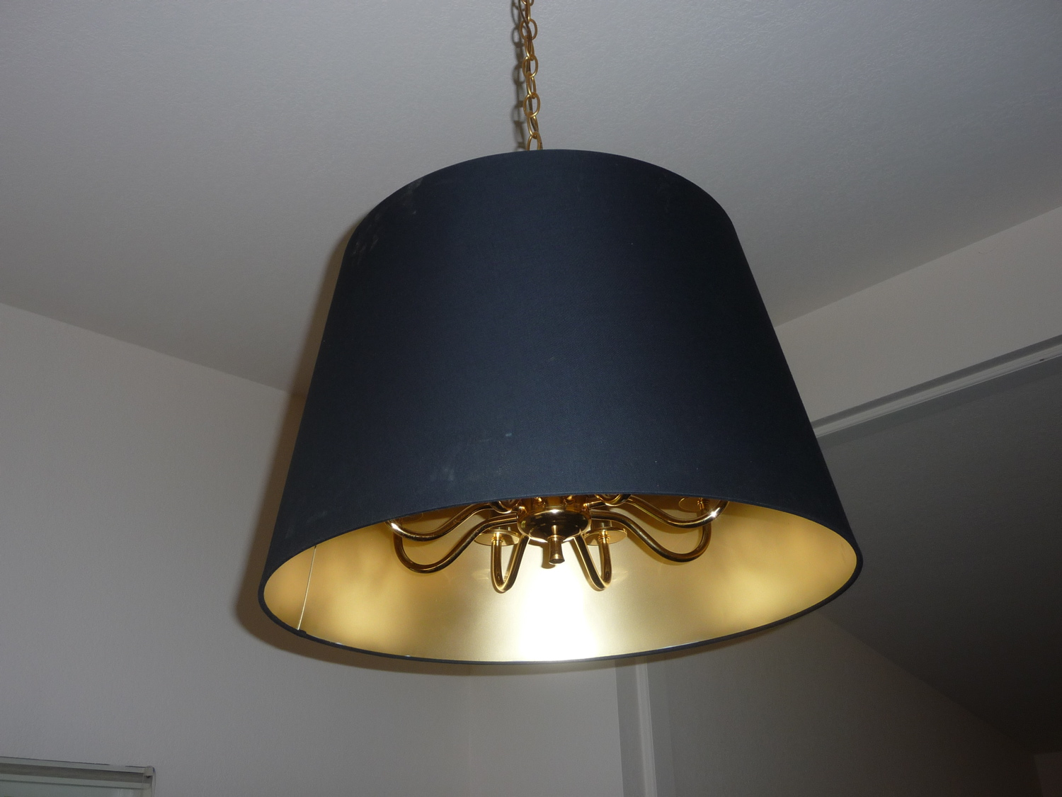 home jara lamp shade over hanging ceiling light