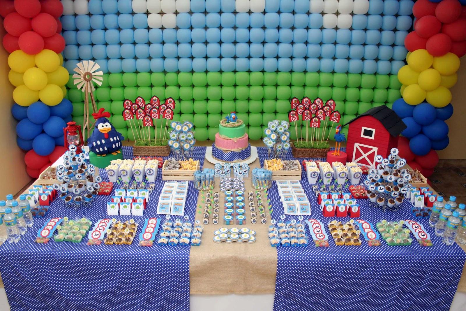 Turma Da Galinha Pintadinha Fez A Festa Deste Aniversariante