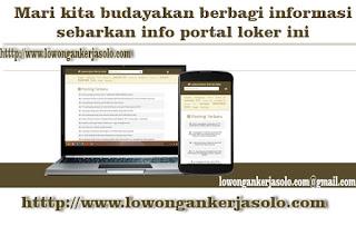portal loker soloraya terbaru 2016