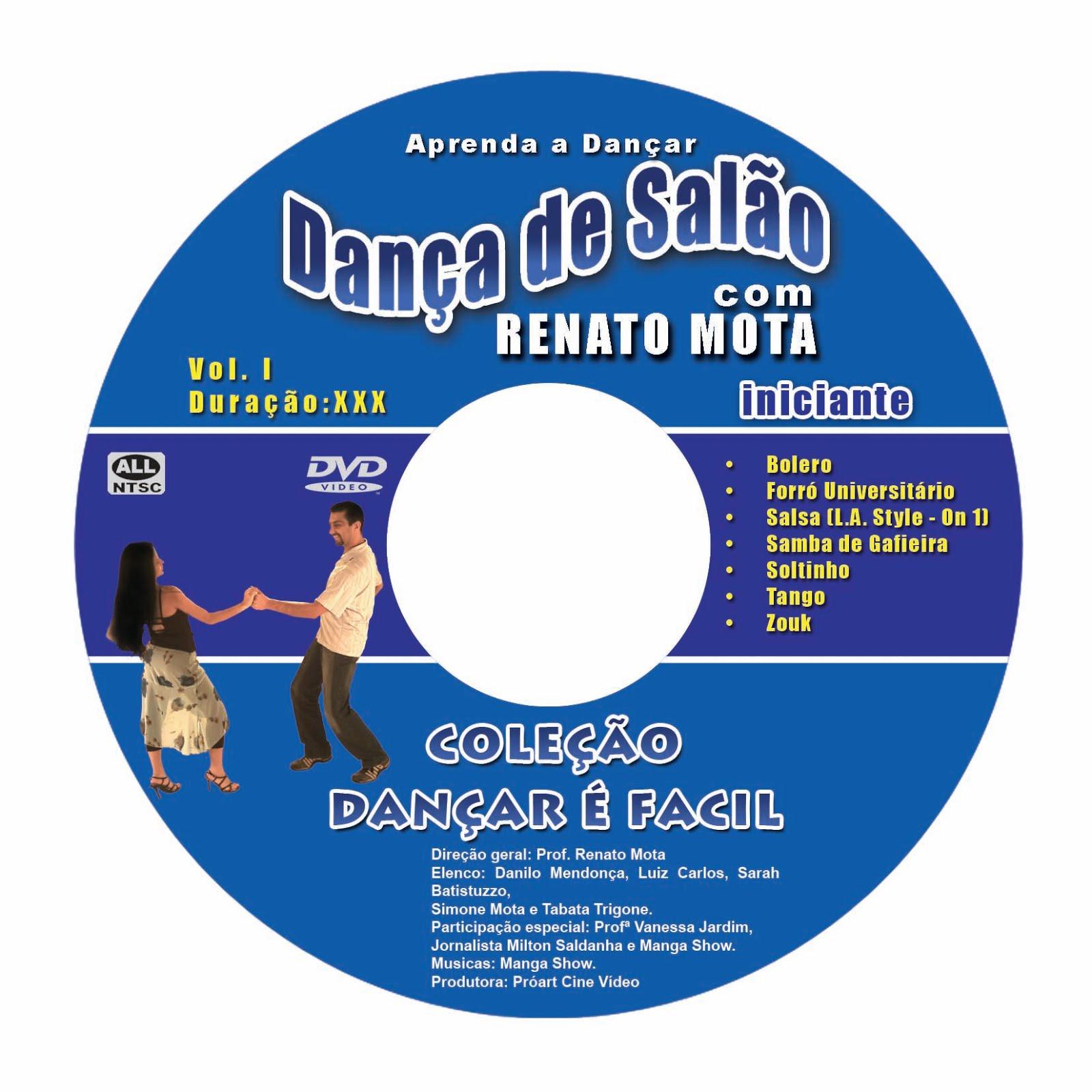 Coleção Dançar é Fácil aprenda com Renato Mota.