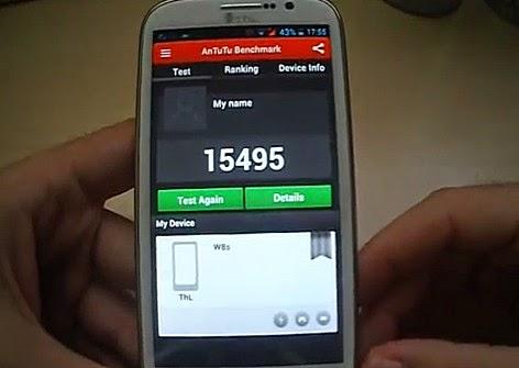 THL W8s War Machine, THL Android Smartphone, MT6589T Antutu, THL W8s Antutu