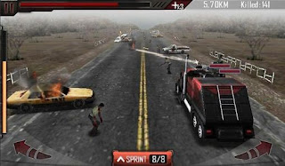 Screenshots of the Zombie Roadkill 3D for Android tablet, phone.