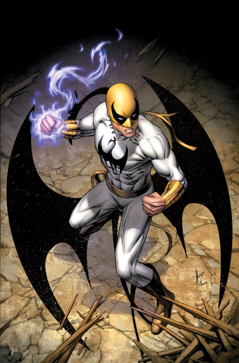 Iron fist white costume