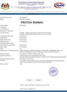 proton idaman