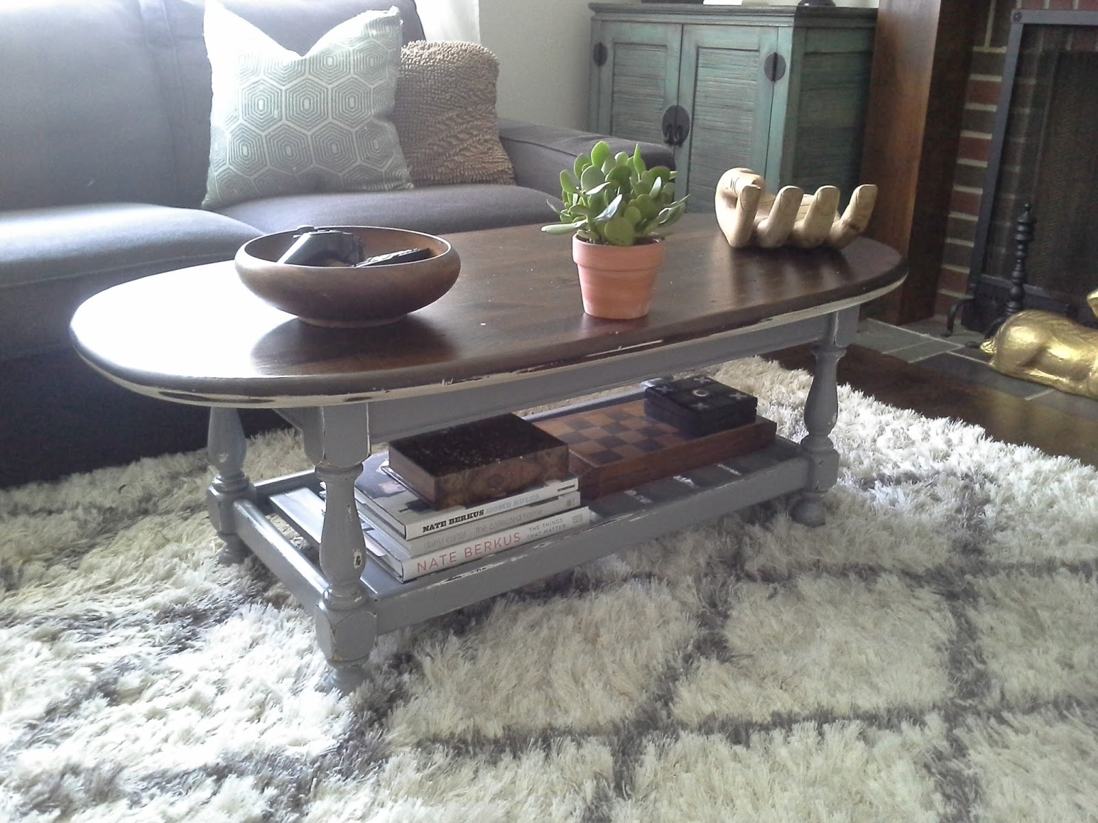 Amazing Ethan Allen Coffee Table Redesign