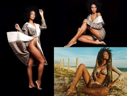 Modelo e Miss Ilhas de Búzios 2016, Vitória Felix sensualiza em fotos de dá água na boca e leva fãs