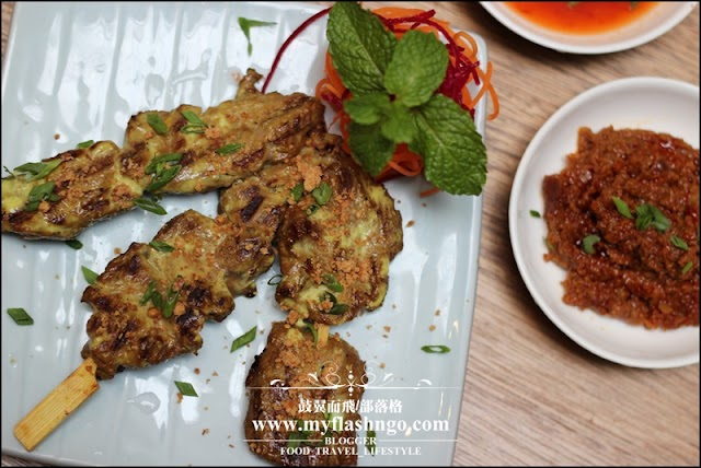 Food : Penang | Inch VS Plates 泰式小吃与鸡尾酒的完美结合