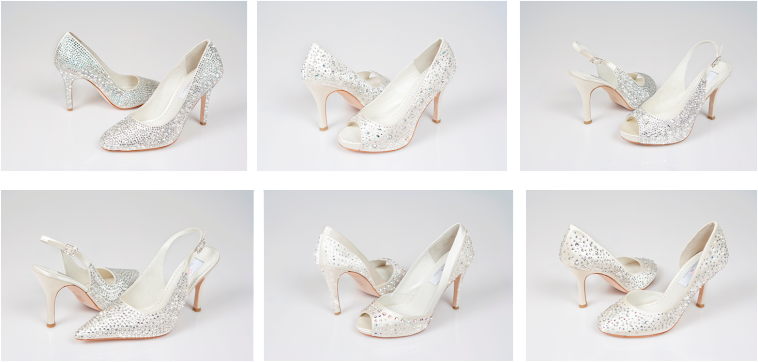 Designer Luxury Bridal, Prom, Red carpet, Pageant & Special Occasion Shoes
