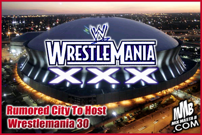 The official website of mmb for Mercedes benz superdome wrestlemania 30