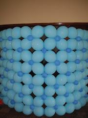 Parabanes en globos para tus fiestas