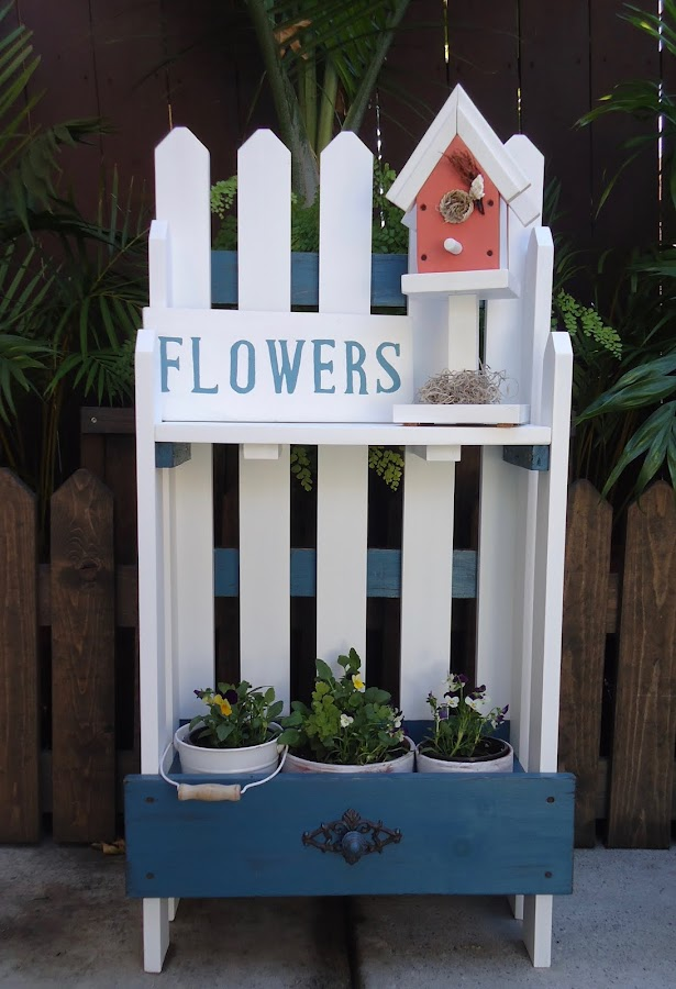 Picket Fence Table - Available $150