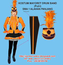 KOSTUM MAYORET MARCHING BAND