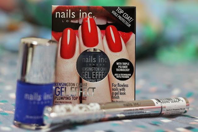 nails inc london singapore sephora baker street vitamin oil pen gel effect top coat