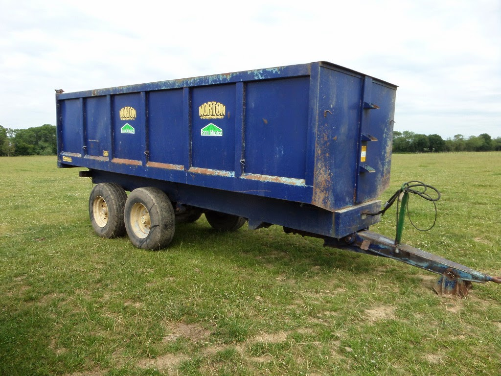 Used Tractor Trailers : Used tractors machinery and plant norton tonne