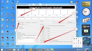 menggunakan odin multi downloader berikut adalah kumpulan alat odin ...