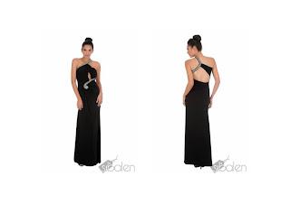 vestido sibalen negro