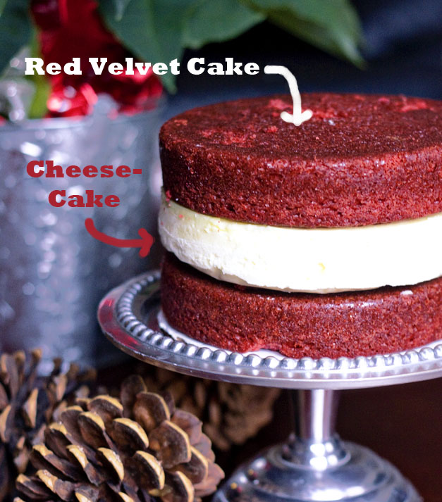Red Velvet Cheesecake Layer Cake | I Love My Big Gay Son