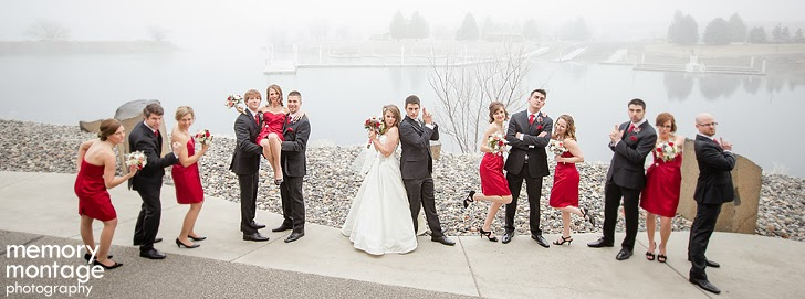 winter wedding three rivers convention center tri cities washington