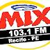 Ouvir a Rádio Mix FM 103,1 de Recife - Rádio Online