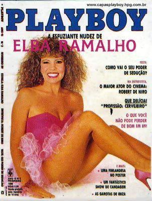 Elba Ramalho - Playboy 1989