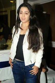 Actress Charmi Kaur Pictures in Jeans at One by Two Movie Celetes 20 Years Event 0085