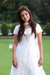 Nisha Agarwal Latest Pictures Gallery in White Sal Kameez 0006.jpg