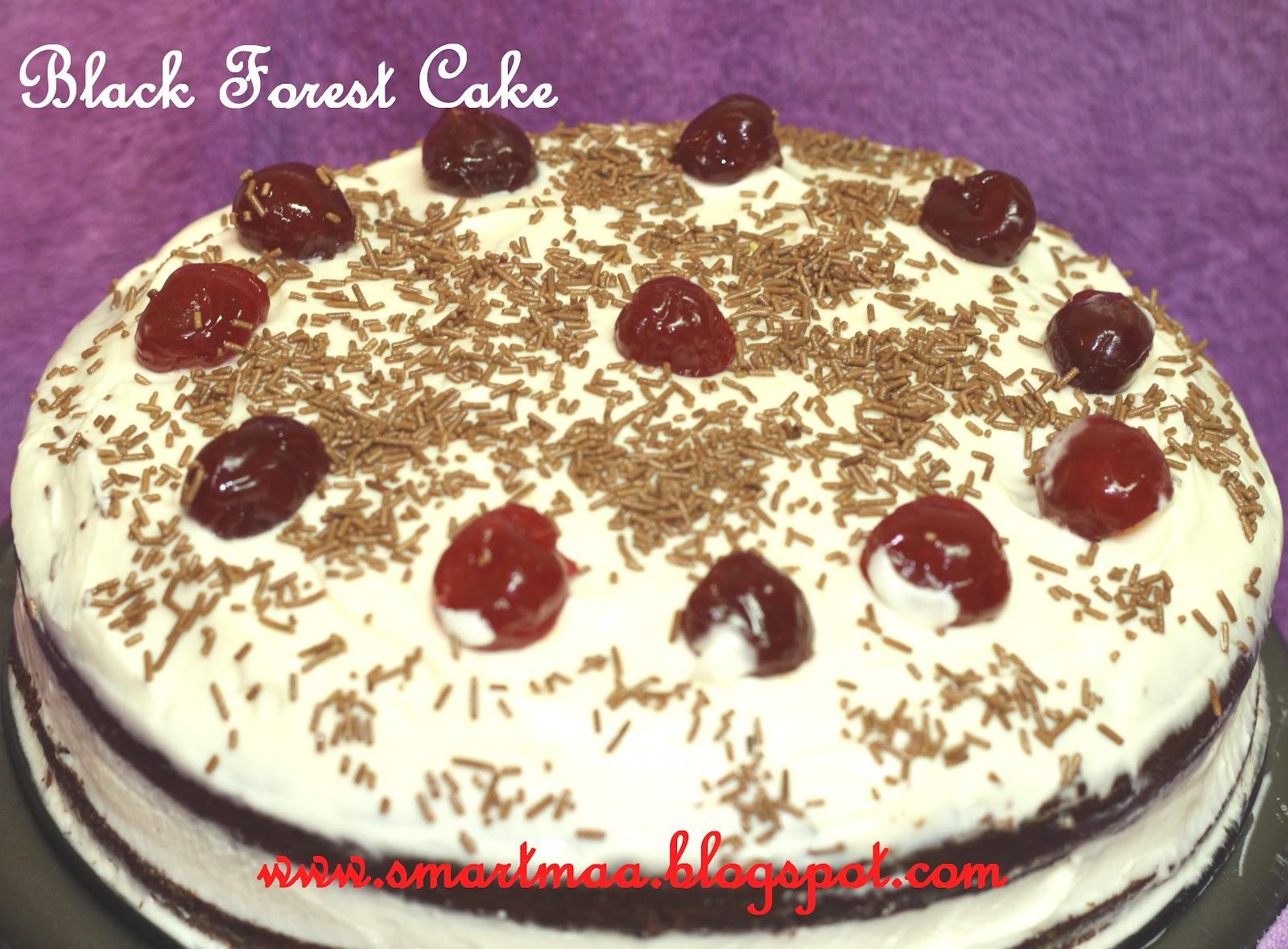 Smart Maa: Black Forest Cake