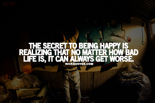 Life Quotes | The Secret To Being Happy