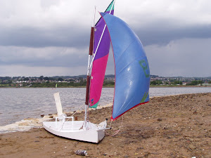 The Rx3 Lay Down Sailing Dinghy
