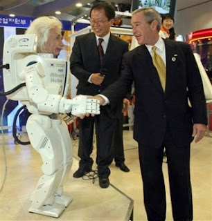 Albert Hubo, meet President Bush