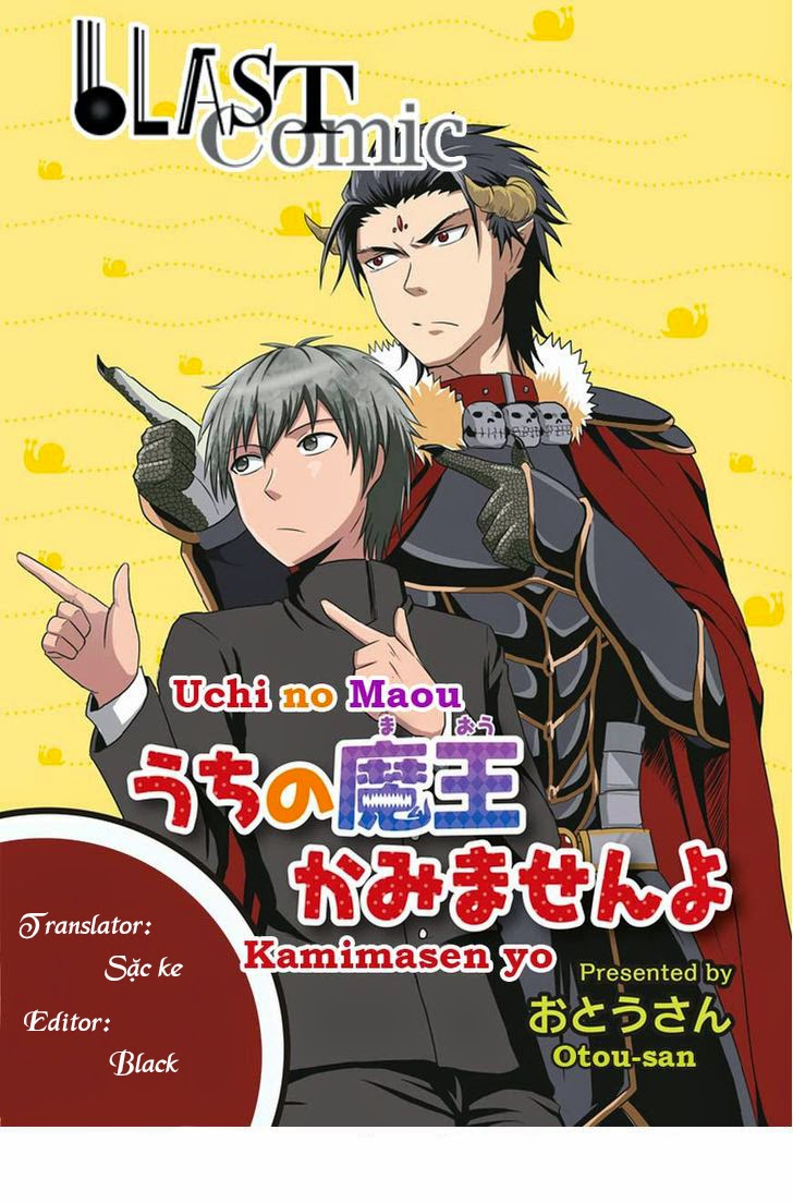 Thú nuôi của tôi là Satan - Uchi no Maou Kamimasen yo