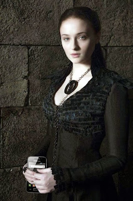 Goth Sansa funny cell phone