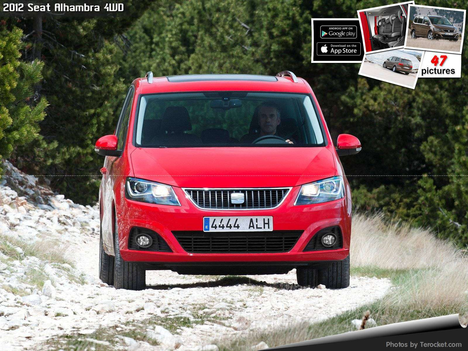 Hình ảnh xe ô tô Seat Alhambra 4WD 2012 & nội ngoại thất
