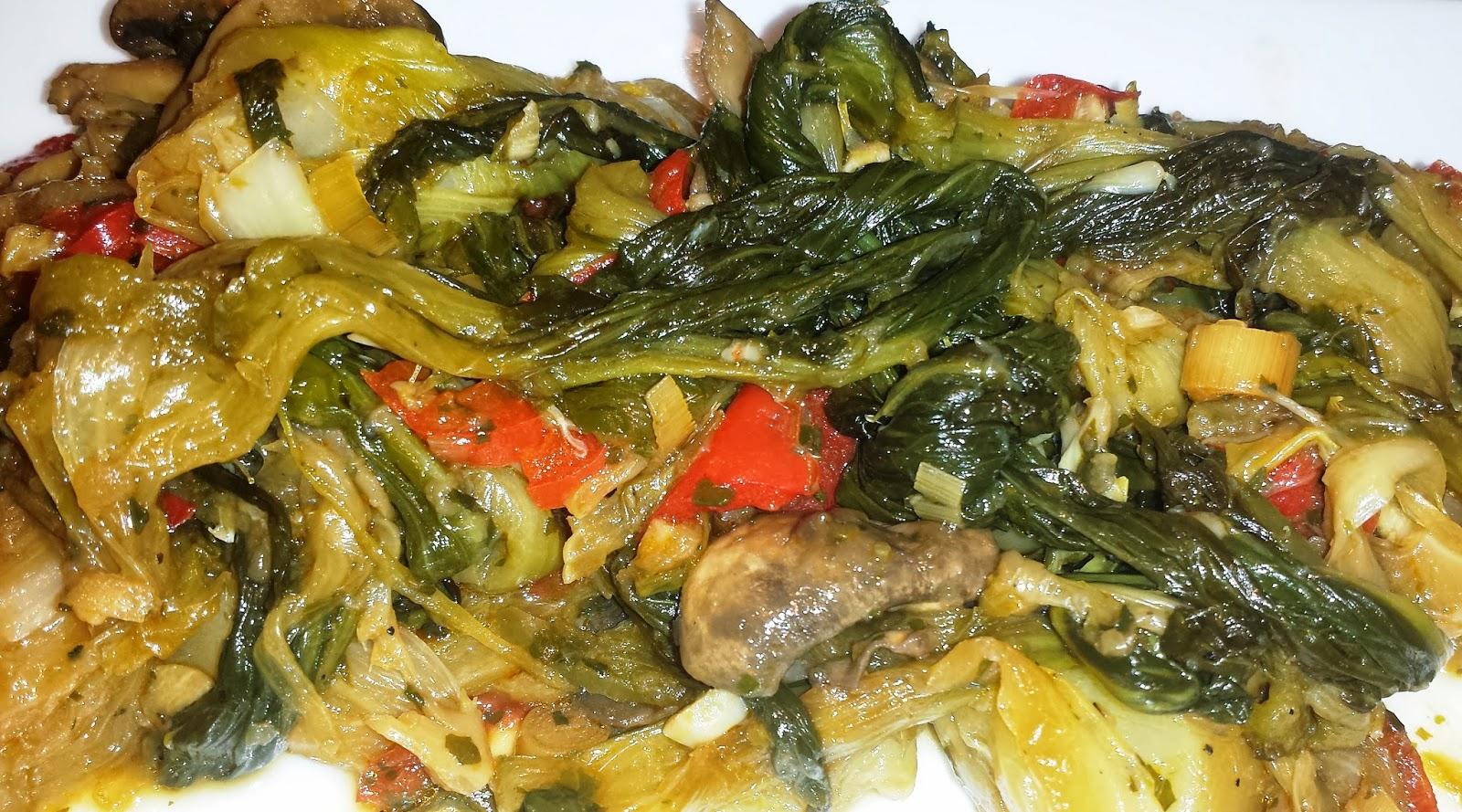 La p 39 tite cuisine de val pak cho brais au gingembre et l 39 ail - Cuisson pak choi ...
