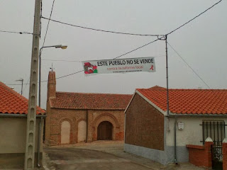 Galleguillos de Alba, este pueblo no se vende, contra la reforma local