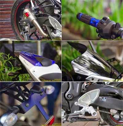 Aksesoris racing Yamaha R25