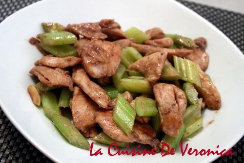 La Cuisine De Veronica 蝦醬西芹炒雞片