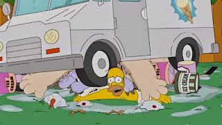 Homer relève le Ice Bucket Challenge