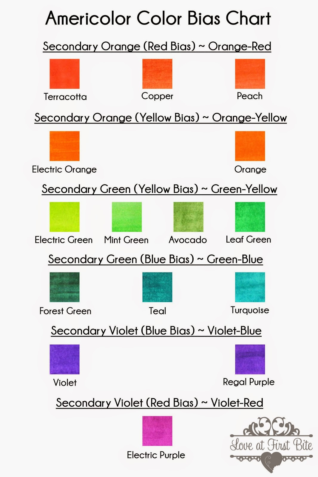 Secondary Colors Can Lean Toward A Color Biasthis Is What Known As Tertiary We Already Know That Need To Mix Primary And