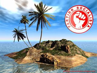 Wallpaper do Partido Socialista Português para utilizar como fundo de tela do seu ambiente de trabalho