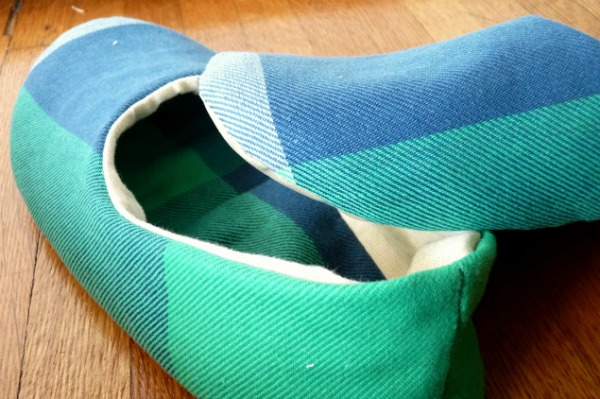 Megan Ta Da House Slippers To Be Sewn