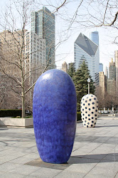 Dangos by Jun Kaneko at Millennium Park