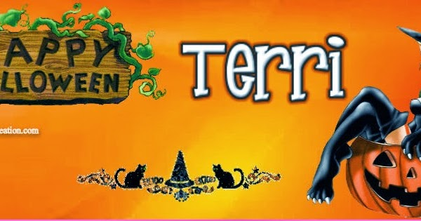 Terri halloween cover jewels art creation for Terris meaning