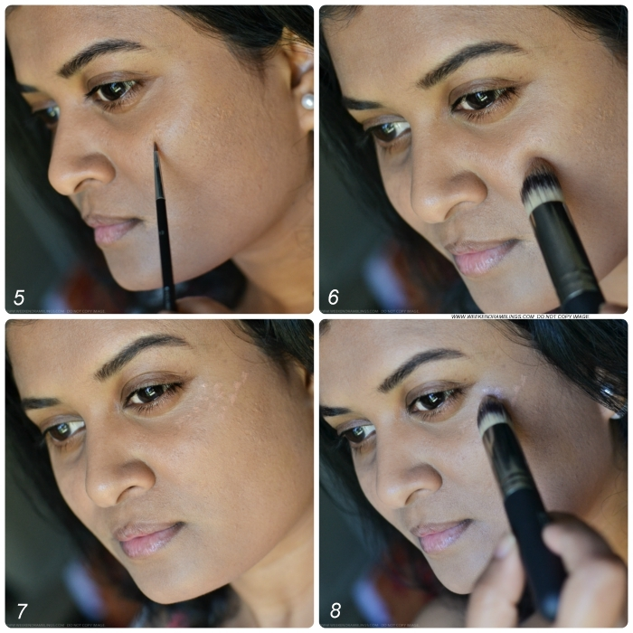 Easy Makeup Tutorial How To Steps Strobing-Inspired Dewy Peach-Toned Look