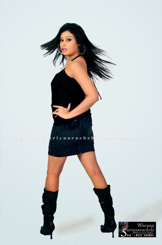 sri lankan model back