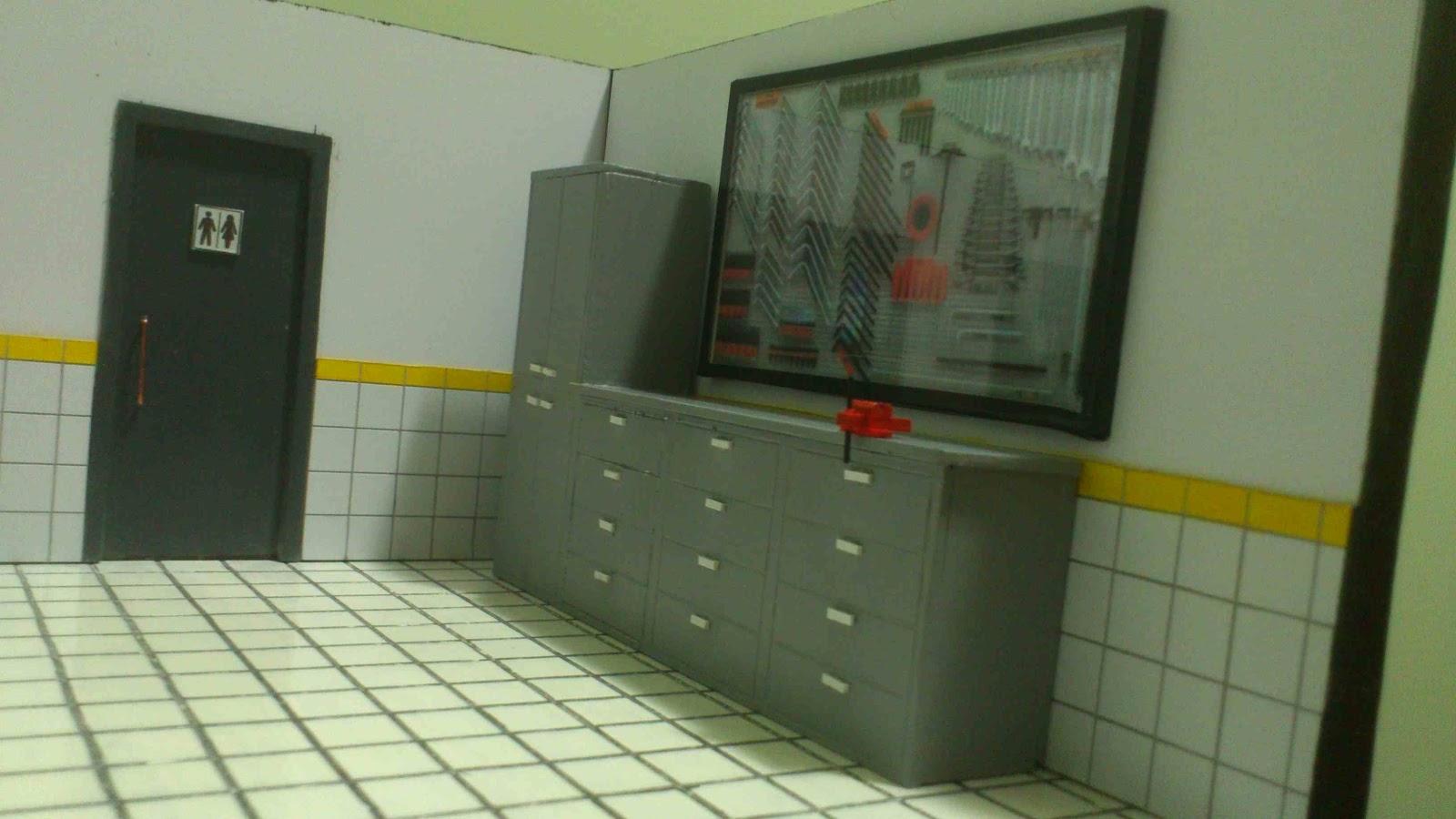 POLO MINIATURAS: Diorama Oficina Mecânica #AD9601 1600x900